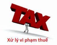 Cưỡng chế nợ thuế
