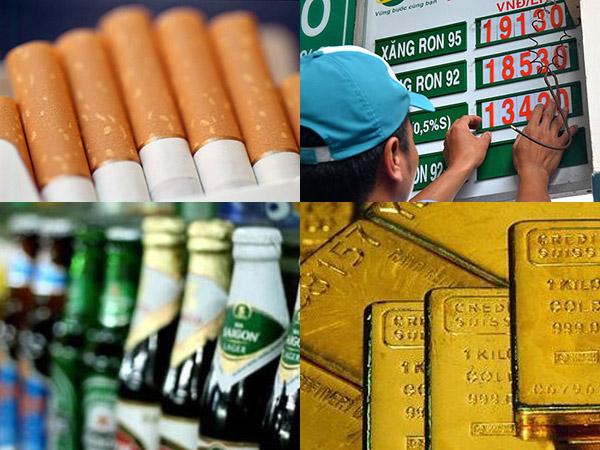 Kê khai thuế TTĐB đối với hoạt động nhận gia công thuốc lá điếu