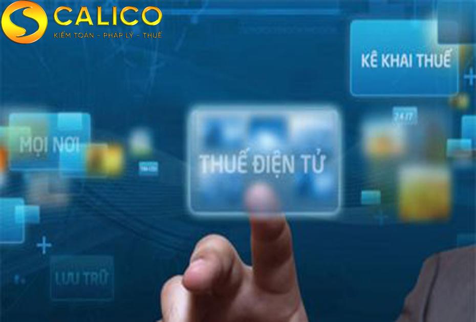 thuế điện tử( thuế online)