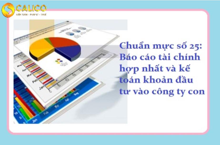 báo cáo tài chính và đầu tư công ty con